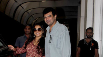 Vidya Balan and Siddharth Roy Kapur spotted in Bandra