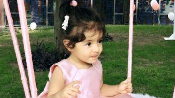 Ghajini actress Asin's daughter Arin turns one; shares first photos of her with husband Rahul Sharma