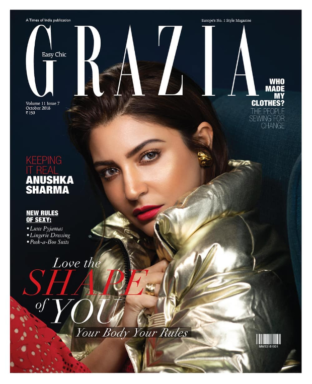 Anushka Sharma for Grazia (Cover)