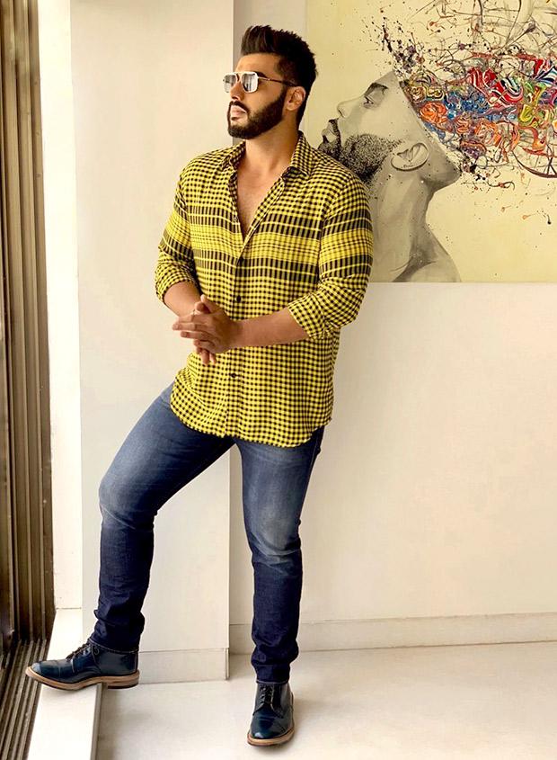 Arjun Kapoor in Diesel for Namaste England promotions (1)