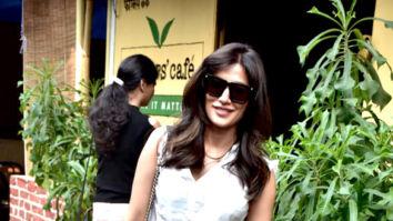 Chitrangda Singh spotted at Farmers' Cafe in Bandra