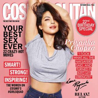 Priyanka Chopra On The Cover Of Cosmopolitan