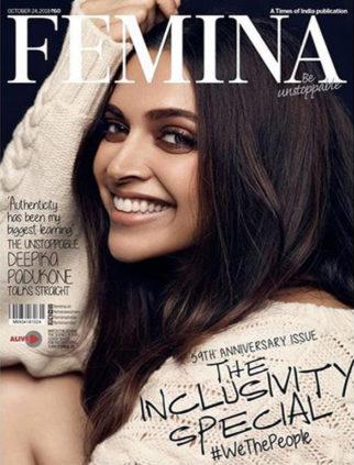 Deepika Padukone On The Cover Of Femina, Oct 2018