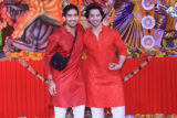 Varun Dhawan, Ayan Mukerji and others spotted at Durga Pooja Part 1