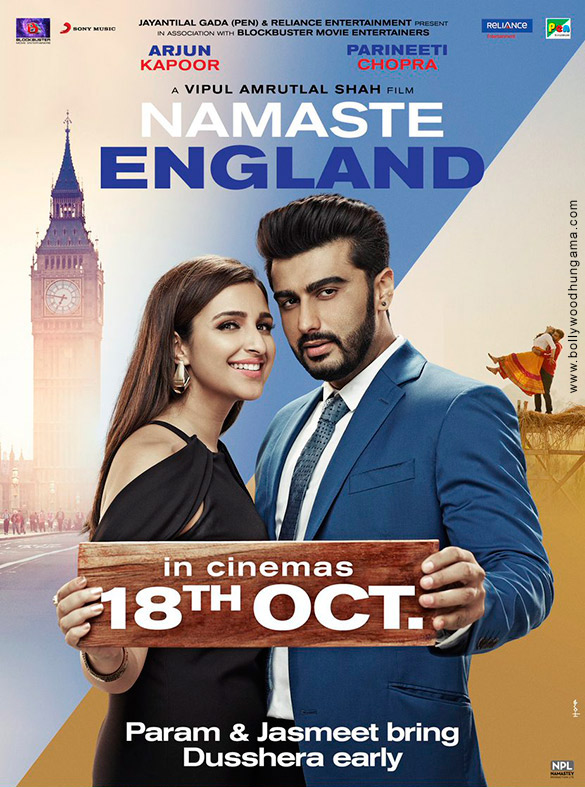 First Look Of The Movie Namastey England