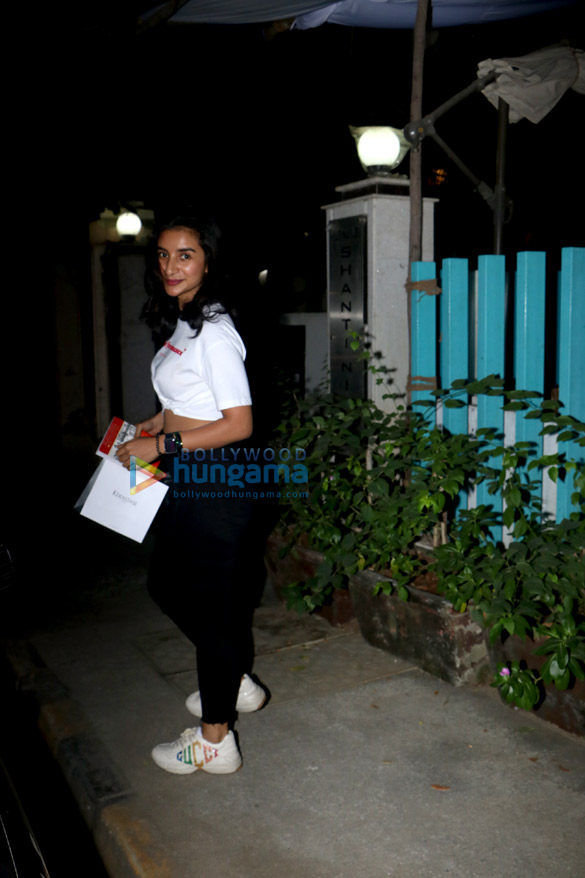 Patralekha spotted at BBLunt salon