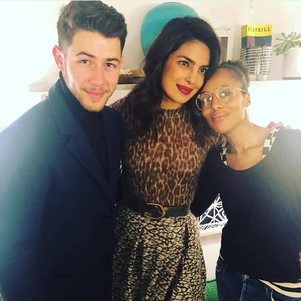 Priyanka Chopra and Nick Jonas meet Scandal star Kerry Washington in NYC