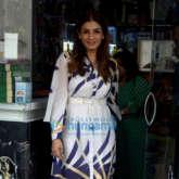 Raveena Tandon snapped at a pet shop