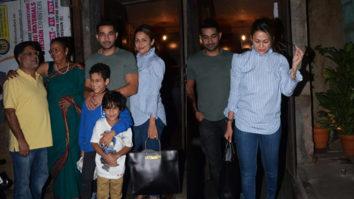 SPOTTED Amrita Arora with family at Bandra