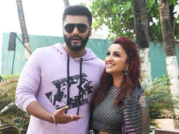 SPOTTED Arjun Kapoor and Parineeti Chopra promote Namaste England at Novotel, Juhu