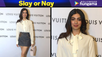 Slay or Nay - Khushi Kapoor in LV at LV Store launch in Delhi (Featured)