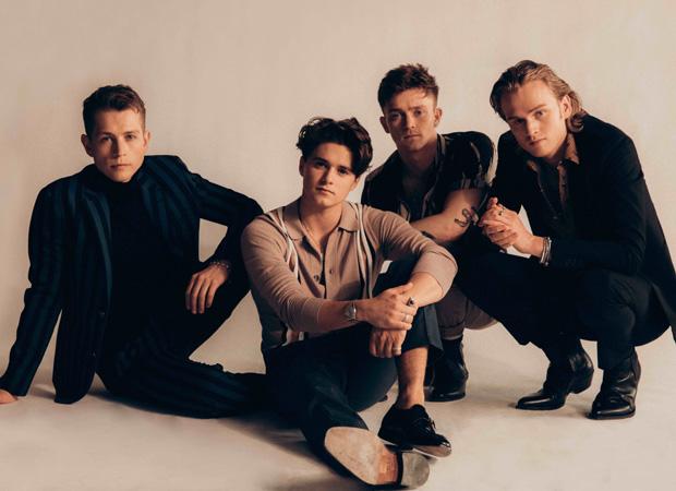 UK based boy band THE VAMPS arriving tomorrow