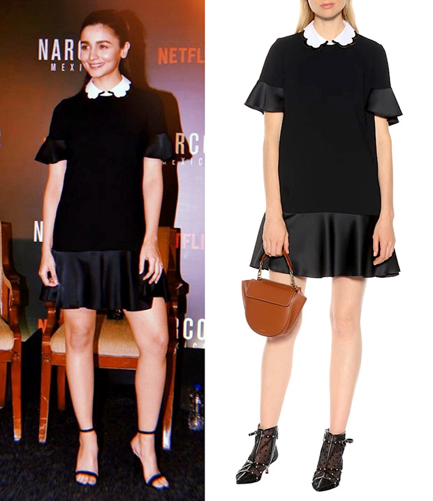 Alia Bhatt of Red Valentino for Narcos Mexico x Netflix event (3)