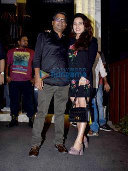 Arjun Kapoor and Rajkumar Gupta snapped at the wrap up party of India's Most Wanted