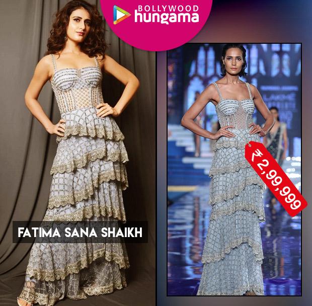 Celebrity Splurges - Fatima Sana Shaikh