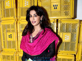 Chitrangda Singh snapped spending time with the visually impaired in Delhi