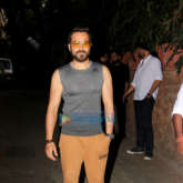 Emraan Hashmi spotted at Krome studio in Bandra