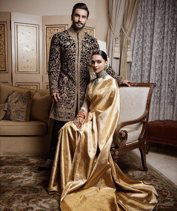 Deepika Padukone, Ranveer Singh's reception pictures could leave you in awe!