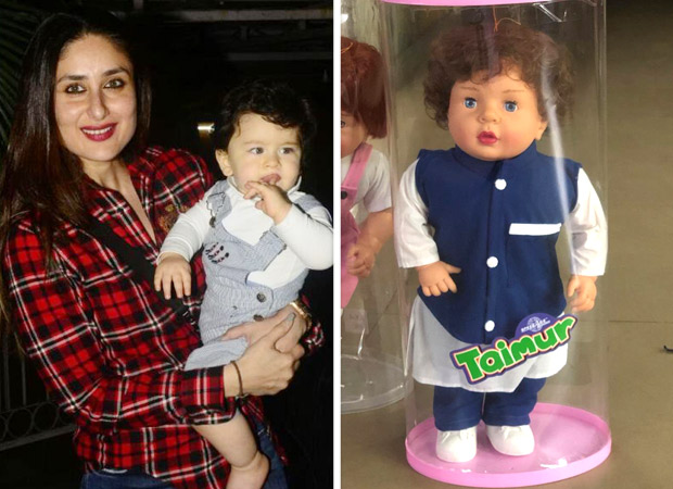 Taimur Ali Khan's doll gets a reaction from Saif and Kareena!