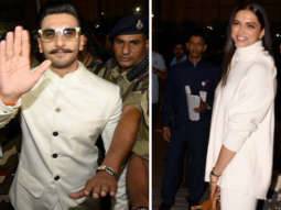 MUST WATCH Ranveer Singh & Deepika Padukone Fly to Italy with Family