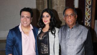 Press Conference on the Censor Board's CUT for Govinda's film Rangeela Raja Part 2