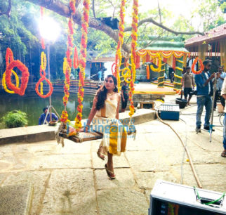 On The Sets Of The Movie Shakeela
