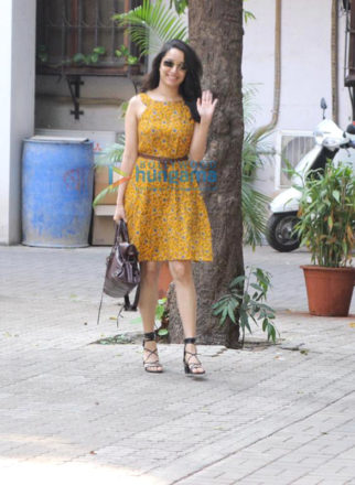 Shraddha Kapoor spotted at Maddock Films office