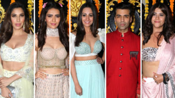 Shraddha Kapoor,karan Johar, Kiara Advani & Others at Ekta Kapoor's Diwali Celebration