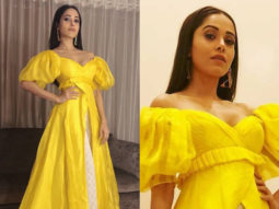 Slay or Nay - Nushrat Bharucha in Manish Malhotra for a formal evening (Featured)