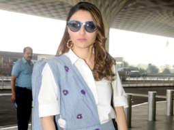 Soha Ali Khan, Arjun Rampal and Javed Akhtar snapped at the airport