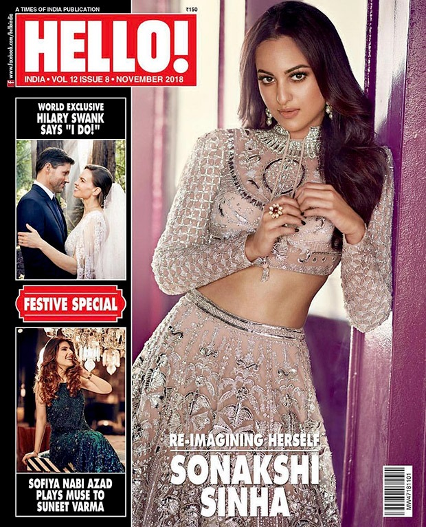 Sonakshi Sinha in Falguni and Shane Peacock for HELLO! magazine photoshoot (4)