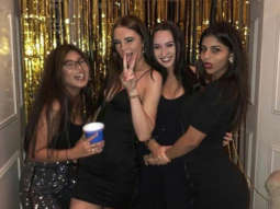 UNSEEN pic Suhana Khan in a KILLER LBD parties with pals, has a better weekend than us!