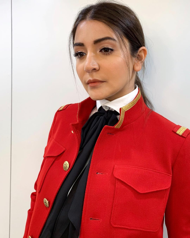 Anushka Sharma in Polo Ralph Lauren for Zero promotions (3)