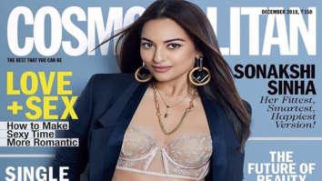 Sonakshi Sinha On The Cover Of Cosmopolitan, Dec 2018