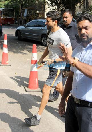 Farhan Akhtar snapped at Otters Club