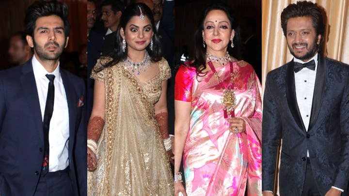 Isha Ambani And Anand Piramal Royal Wedding Reception At