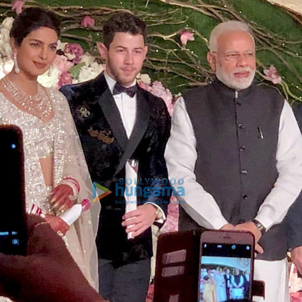 Priyanka Chopra and Nick Jonas make debut as married couple