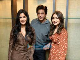 Shah Rukh Khan, Anushka Sharma and Katrina Kaif promote Zero in Delhi