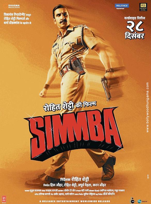 SIMMBA (2018) con RANVEER SINGH + Jukebox + Sub. Español + Online Simmba2-2