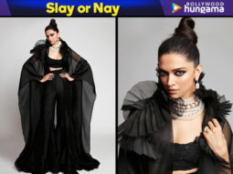 Slay or Nay - Deepika Padukone in Anamika Khanna for Star Screen Awards 2018
