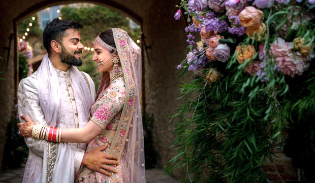 Virat Kohli- Anushka Sharma Relive Their Wedding With These Dreamy Unseen Photos