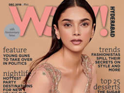 Aditi Rao Hydari on the cover of WOW, Dec 18