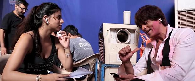 Zero Suhana Khan helping dad Shah Rukh Khan recite lyrics of 'Mere Naam Tu' is absolutely adorable