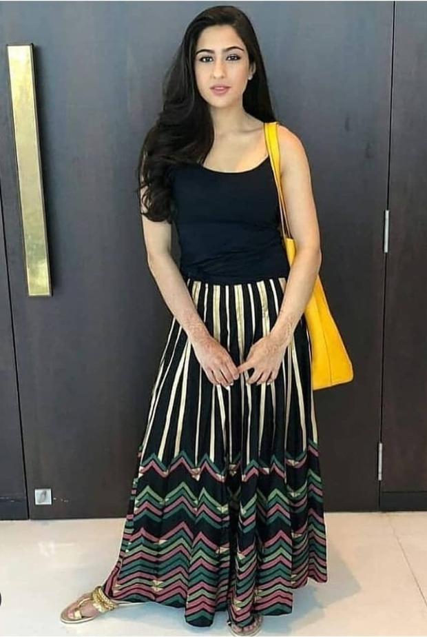 Sara Ali Khan goes boho chic in a Global Desi skirt (1)