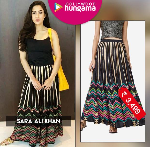 Sara Ali Khan goes boho chic in a Global Desi skirt (2)